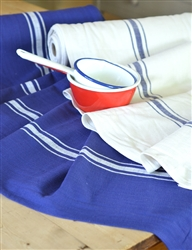 Navy or Cream Summertime Toweling- FINAL SALE!