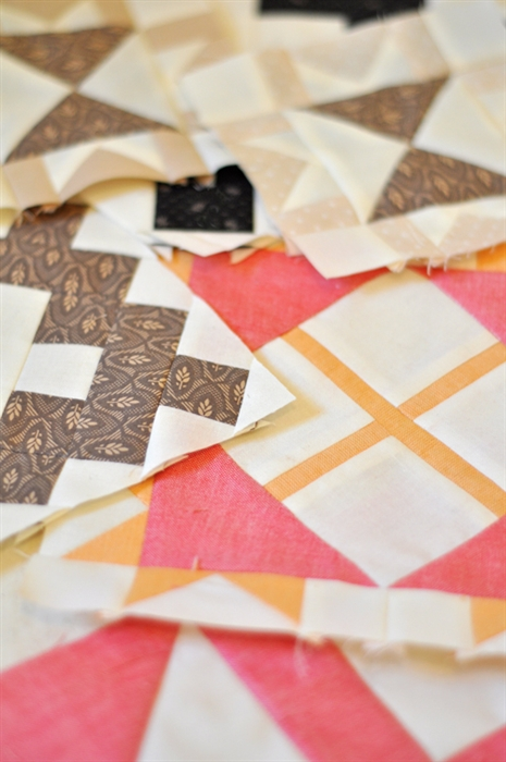 Vintage Block Of The Month By Fig Tree Amp Co