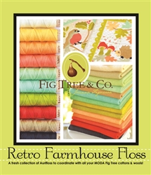 Aurifil Retro Farmhouse AURIFLOSS